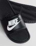 Sorte Benassi jdi badesandaler fra Nike