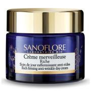 Sanoflore Crème Merveilleuse Rich Firming Anti-Ageing Moisturiser 50 ml