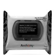 Anthony Glycolic Exfoliating and Resurfacing Wipes (30 Wipes)