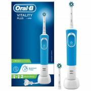 Oral-B Vitality Plus CrossAction Power Handle Electric Toothbrush - Blue