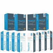 Nourkrin Man for Hair Preservation 12 Month Bundle with Shampoo and Conditioner x4