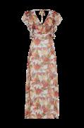 Maxikjole onqCorrie S/L Ruffle Maxi Dress