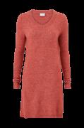 Kjole viVikka L/S Knit V-neck Dress