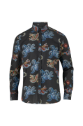 Skjorte Brooks Dragon Black Shirt LS