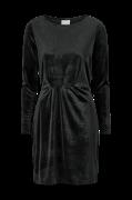 Velourkjole viMInny Velvet L/S Detail Dress