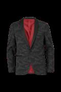 Blazer Knitted Camo Tuxedo Blazer