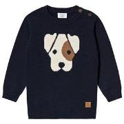 Hust&Claire Pilou Sweater Navy 74 cm (6-9 mdr)