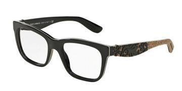 Dolce & Gabbana DG3239F Mamas Brocade Asian Fit Briller