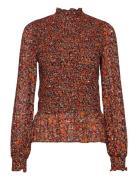 Picaiw Blouse Bluse Langærmet Orange InWear